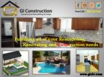 GI Construction - Remodeling and Construction Company Las Vegas