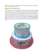 Free Home Yummy Cake Delivery in Delhi NCR
