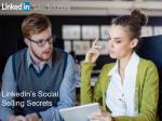 LinkedIn Social Selling Secrets