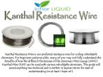 Kanthal Resistance Wire Guide Chart by Ichor Liquid