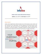InfoLine - India's Largest Online Business Directory