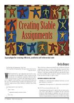 Creating Stable Assignments