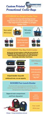 Shop for Promotional Cooler Bags from My Promotions Australia