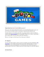 Expectations  Pogo Games Expert,solutions pogo java support,best solutions pogo Not working