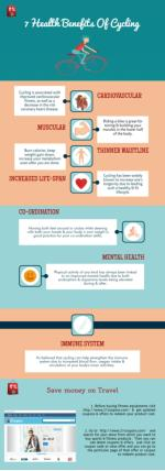 Top 7 health benefits of cycling