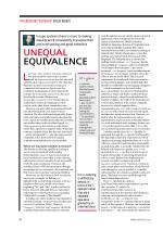 Unequal Equivalence