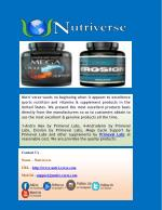 Purchase Primeval Labs Products Online