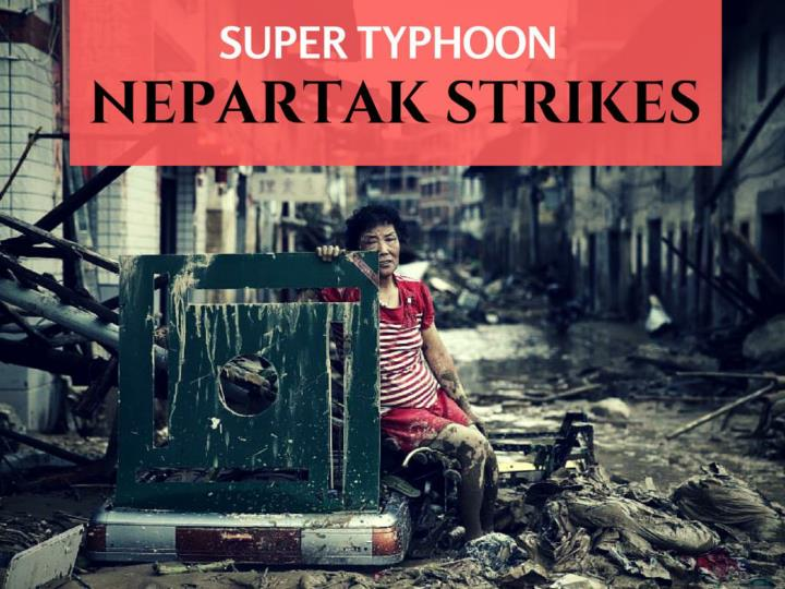 super storm nepartak strikes n.
