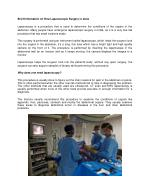 Brief Information on How Laparoscopic Surgery is done