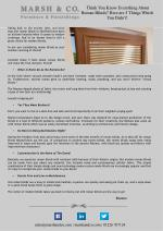 Think You Know Everything About Roman Blinds? Here are 5 Things Which You Didn't!