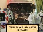 Truck plows into crowd in France