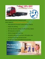 Why we packers and movers company in pune?