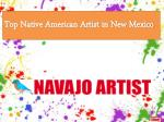 Top Native American Artist in New Mexico