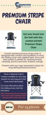 Get Promotional Folding Chairs at My Promotions Australia