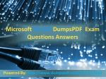 Dumpspdf Pass your 70-412 exam in first attempt
