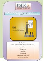 Top advantages and benefits of getting a PMP certification course
