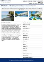 Ocean Breeze Prospect Point Cayman Residential Property For Sale In Grand Cayman