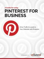 Pinterest for Startups and Small Business Marketers