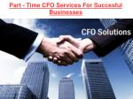 Accounting and Bank Financing Business Consulting Firm