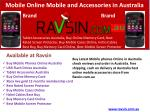 Buy Mobile Online and Accessories in Australia