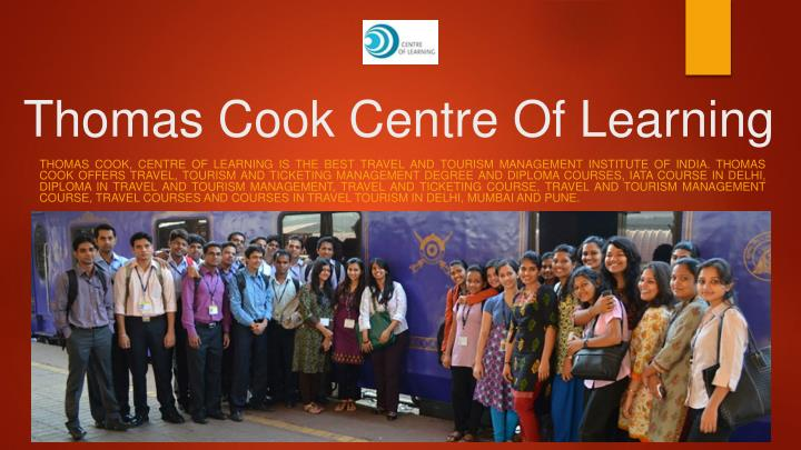 thomas cook centre of learning n.