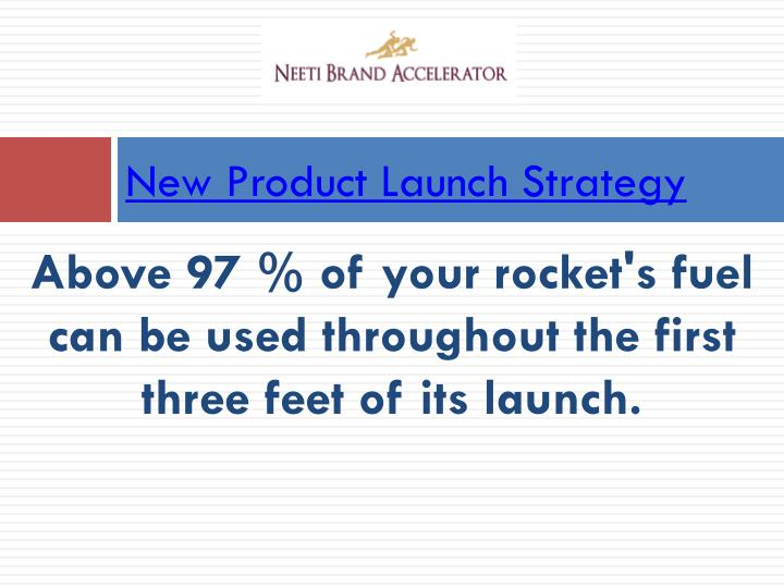 new product launch strategy n.