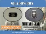 Fashion of Custom Made Design Military Dog Tags With Chain