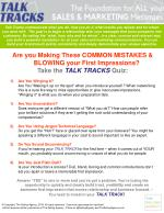 Biggest Sales Mistakes - Talk Tracks 2.0 Quiz
