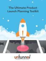 2016 Product Launch Planning Toolkit