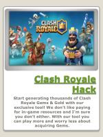 How to Hack Clash Royale