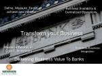 Delivering Business Value To Banks - www.newgensoft.com