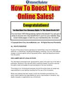 How To Make Money Online -The fastest , Simplest And Easiest Way To Make Money Online From Your Home!