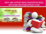 MGT 488 outlet Real Tradition Real Success/mgt488outlet.com