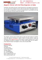 Magnetic Stirrer with Hot Plate Exporters in India