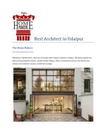 Best Architect in Udaipur