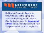 Best Laptop Repair Service Center in Delhi, Gurgaon and Dwarka