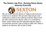 Nursing home abuse attorney knoxville