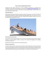 4 tips to choose the right roofing contractor