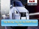 Top Buying Tips for the BMW Used Cars
