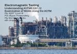 Undesrtanding ASTM E2261-Examination of Welds Using ACFM