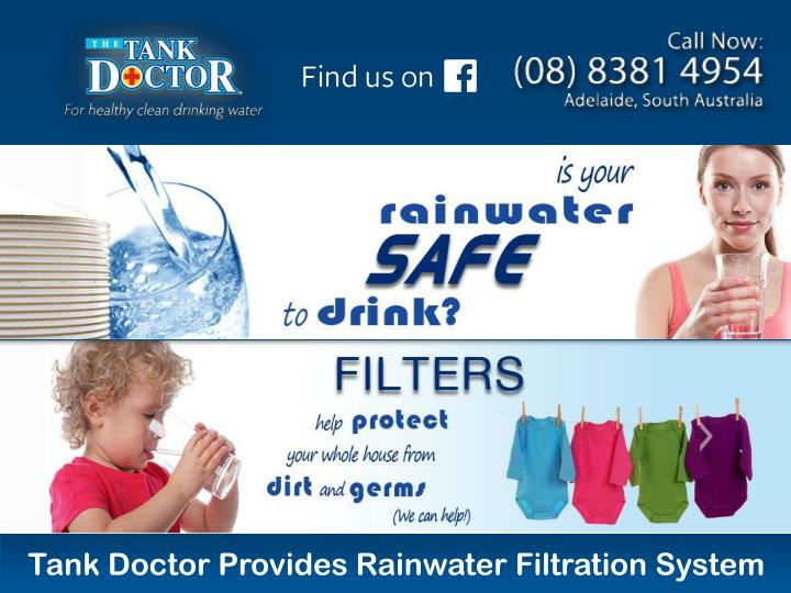 PPT - Tank Doctor Provides Rainwater Filtration System PowerPoint