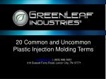 Custom Plastic Injection Molding Terms You Need To Know