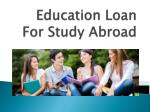 Education Loan For Study Abroad : Top 5 Things to Consider Before Studying Abroad