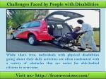 Wheelchair accessible vehicles - Visit us frconversions.com