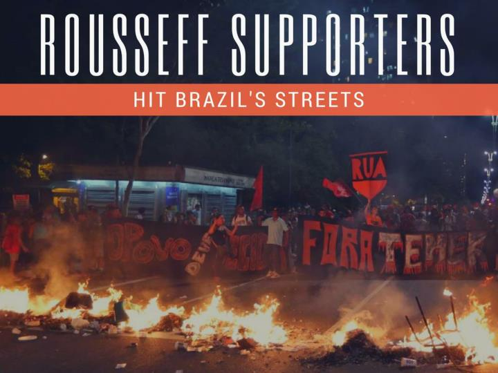 rousseff supporters hit brazil s streets n.