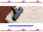 Carpet Cleaning Honolulu Hawaii