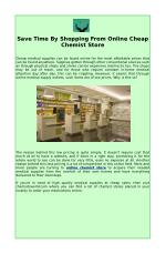 Shop From Online Chemist Store To Save Time And Money
