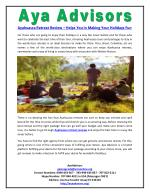 Ayahuasca Retreat Review – Helps You in Making Your Holidays Fun