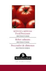 KitchenAid® 13-Cup Food Processor Manual