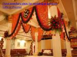 Floral jewellery ideas for wedding at banquet halls in Chennai